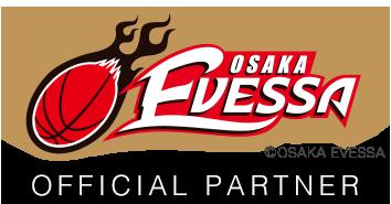 大阪エヴェッサオフィシャルパートナーになりました